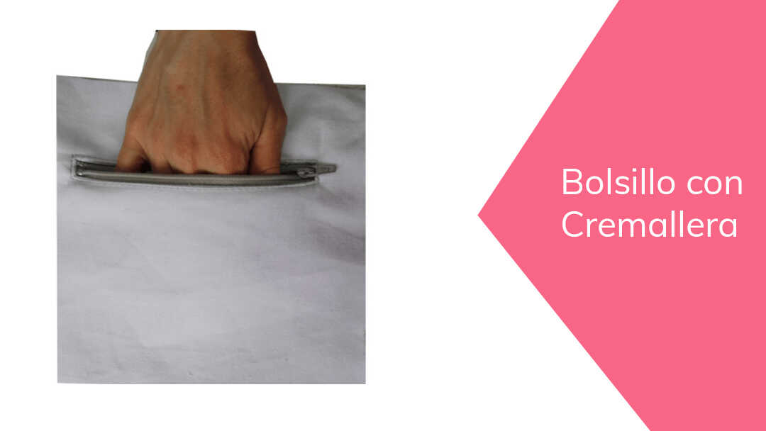 Cómo hacer un Bolsillo con Cremallera