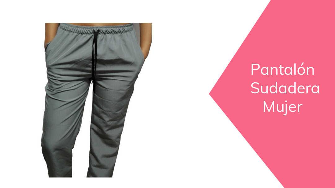Pantalon De Sudadera Mujer Patrones Confecciones Cursos Online De Costura Academia Alamoda