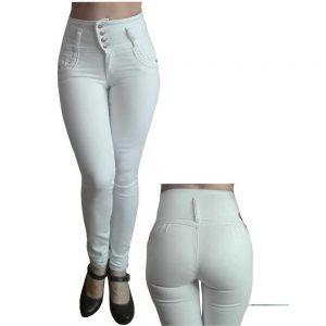 Jeans levantacola pretina ancha