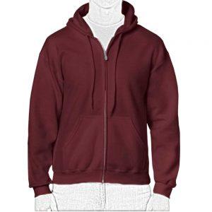 chaqueta deportiva con capota de hombre