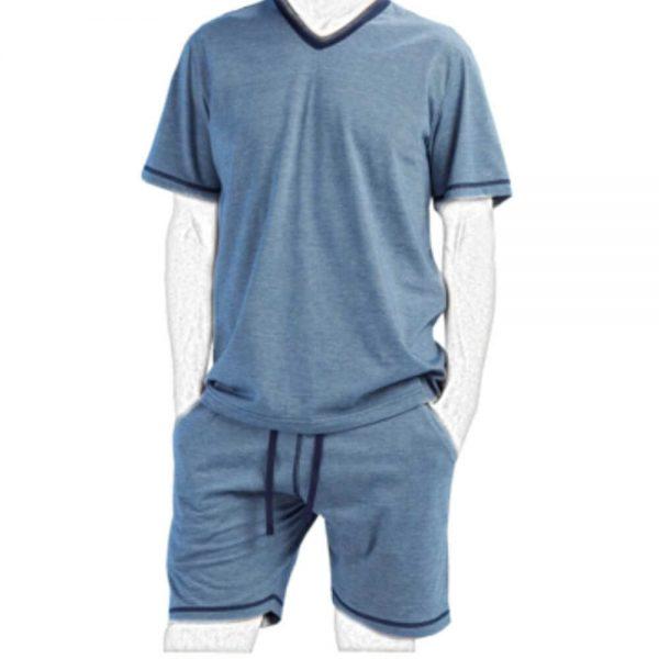 Pijama corta de hombre