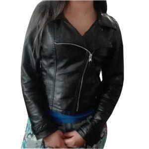 chaqueta cruzada de mujer