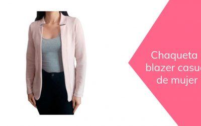 Cómo hacer una chaqueta blazer informal de mujer