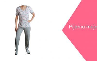 Pijama mujer corte y confección