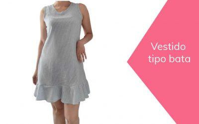 Cómo hacer vestido tipo bata de mujer