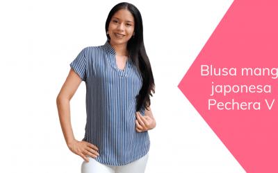 Blusa manga japonesa